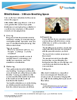 PDF Thumbnail for Mindfulness - 3 Minute Breathing Space