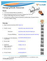 PDF Thumbnail for Managing Moods Resources