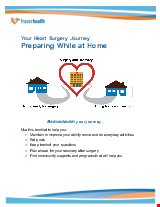 PDF Thumbnail for Your Heart Surgery Journey - Preparing While at Home