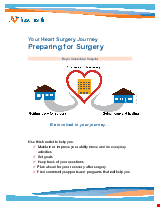 PDF Thumbnail for Your Heart Surgery Journey – Preparing for Surgery