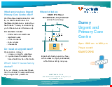 PDF Thumbnail for Surrey Urgent and Primary Care Centre
