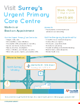 PDF Thumbnail for Surrey Urgent  Primary Care Centre - Poster