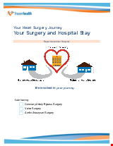 PDF Thumbnail for Your Heart Surgery Journey – Your Surgery and Hospital Stay