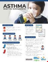 PDF Thumbnail for Asthma (Children) - What you should know