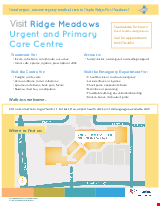 PDF Thumbnail for Ridge Meadows Urgent and Primary Care Centre - Poster