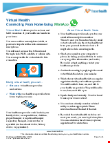 PDF Thumbnail for Virtual Health: Connecting from Home Using WhatsApp