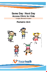 PDF Thumbnail for Same Day / Next Day Access Clinic for Kids