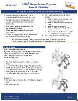 PDF Thumbnail for SAIL for First Nations Home Activity Program – Level 2: Standing