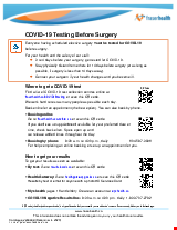 PDF Thumbnail for COVID-19 Testing Before Surgery