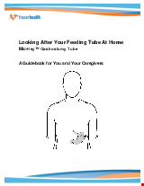 PDF Thumbnail for Looking after your Feeding Tube at Home - Mic-Key Gastrostomy Tube