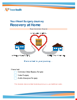 PDF Thumbnail for Your Heart Surgery Journey – Recovering at Home