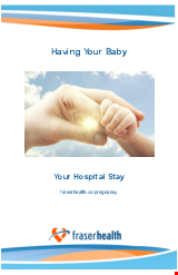 PDF Thumbnail for Having Your Baby - Your Maternity Hospital Stay