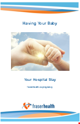 PDF Thumbnail for Having Your Baby - Your Hospital Stay